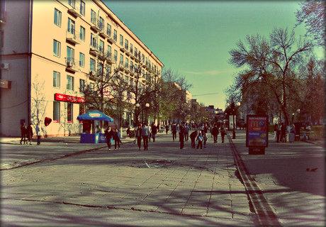 Улица Московская в Пензе.
